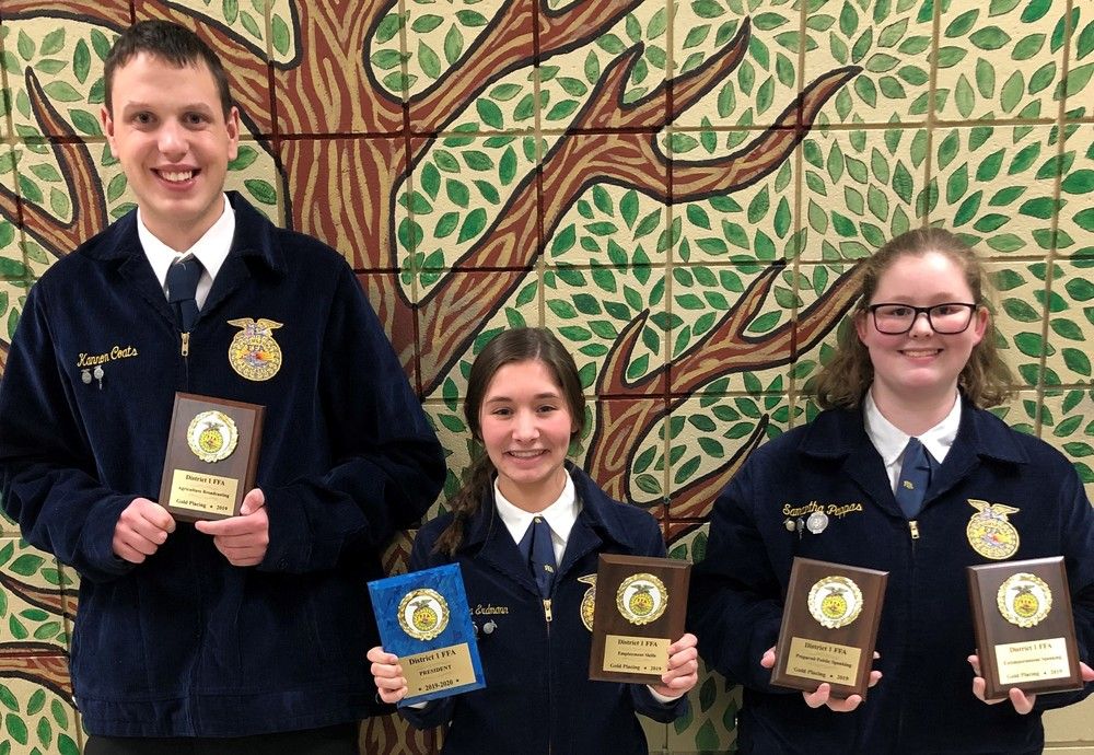 Three Students Qualify for FFA Leadership Development