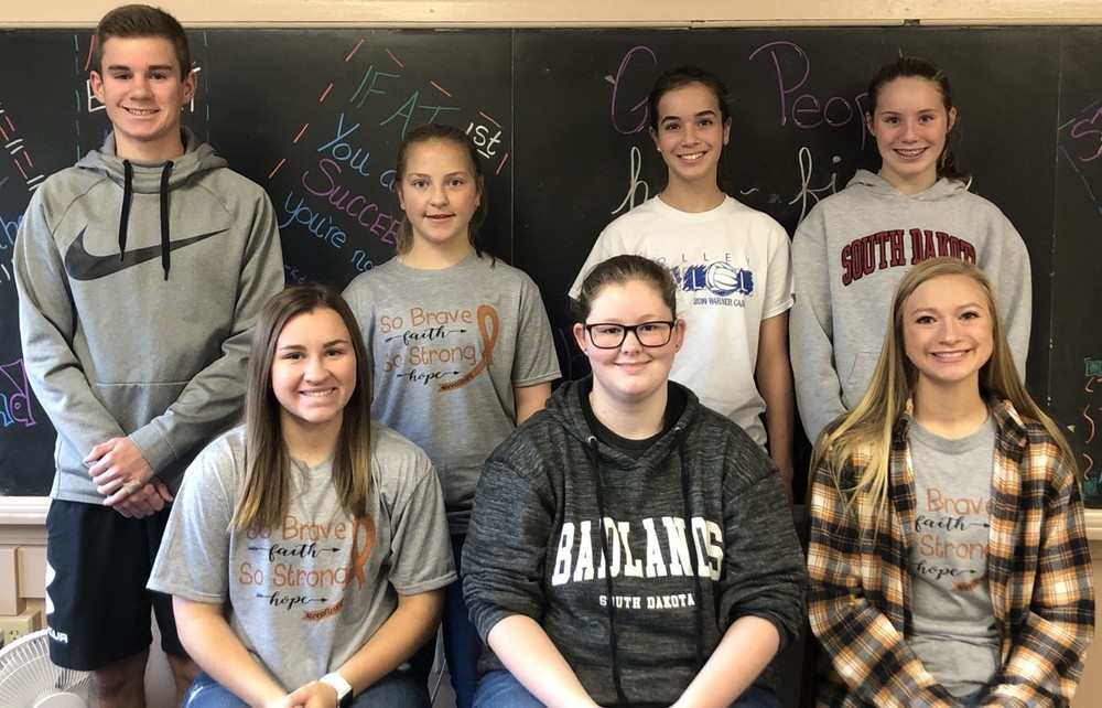 MS/HS Students of the Month- October
