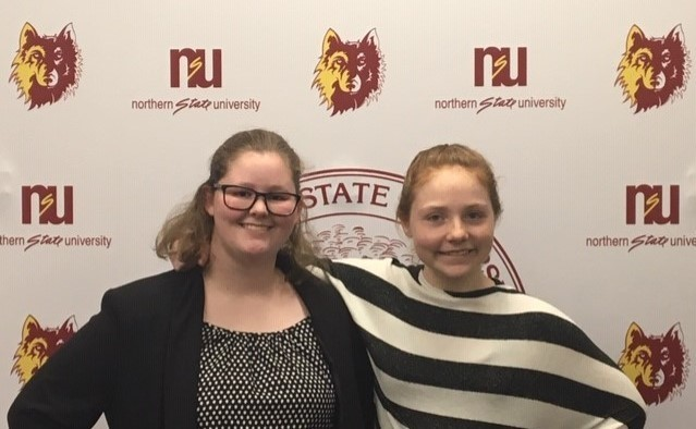 GHS Oral Interp Qualifies Two to State Festival