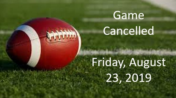 Football Game Cancelled