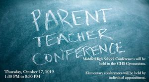 Fall Conferences Scheduled for October 17, 2019