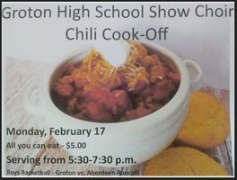 Annual Chili Cook-Off Set for 2/17